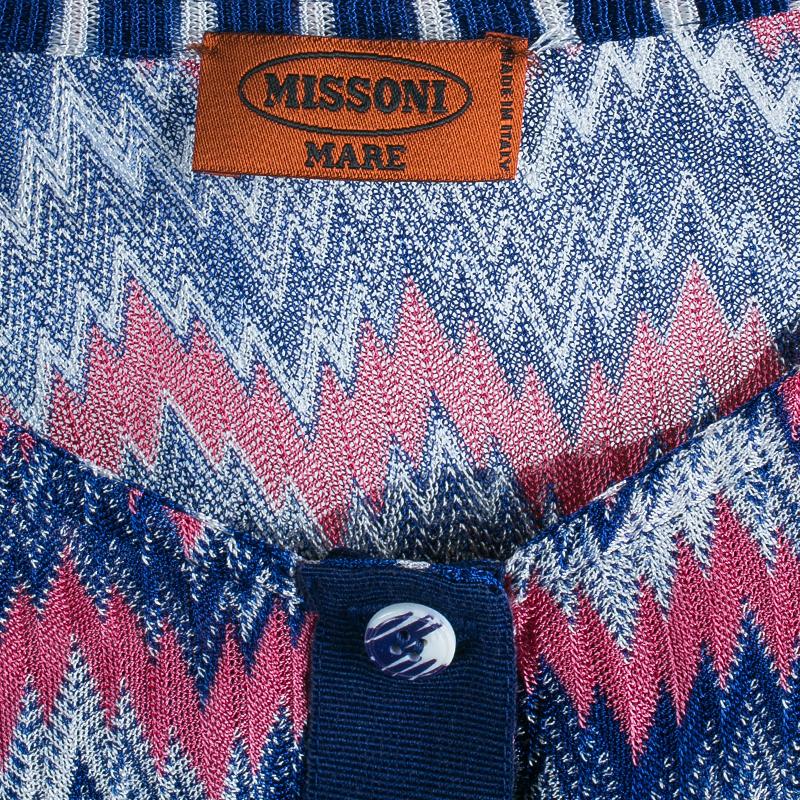 Missoni Mare Blue Multicolor Playsuit M