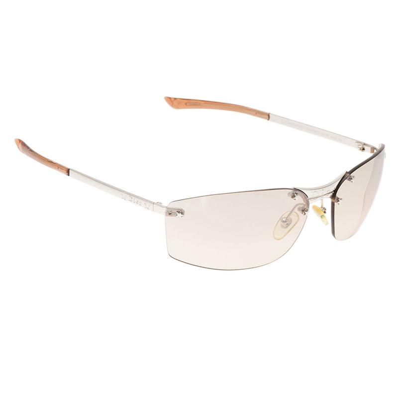 Dior Brown Rimless Sunglasses