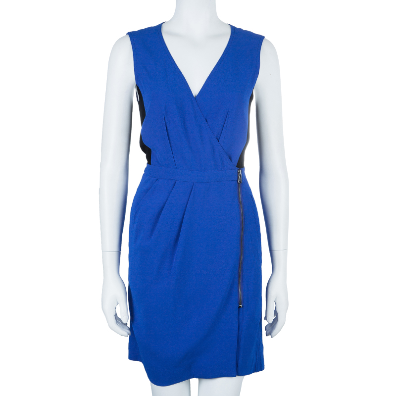 Marc by Marc Jacobs Royal Blue Sleeveless Dress S