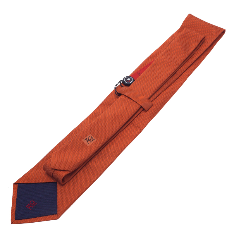 CH Carolina Herrera Orange Tie