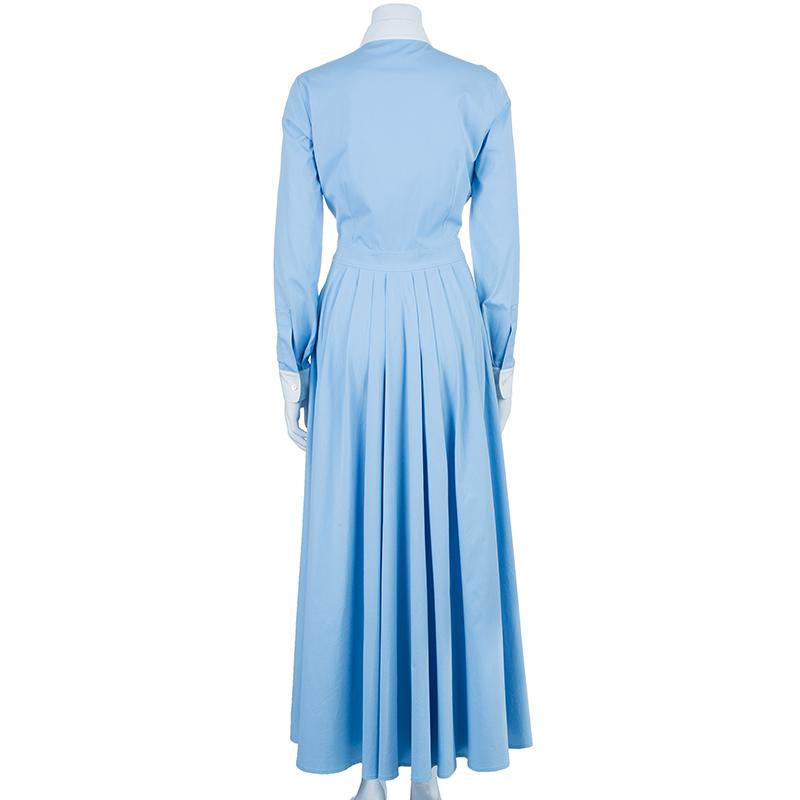 Michael Kors Blue Shirt Dress M
