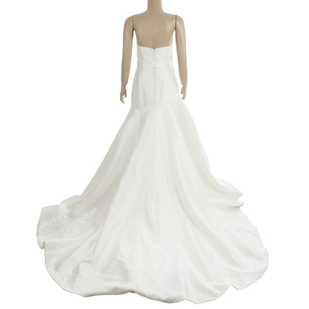 Vera Wang White Wedding Dress M