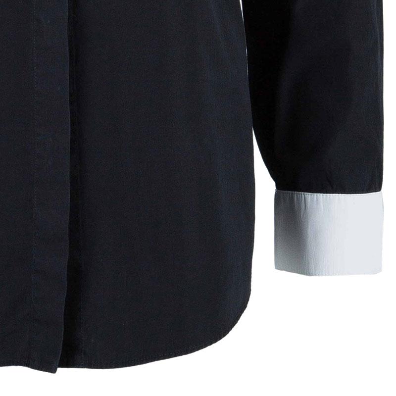 Givenchy Contrast Collar Star Detail Shirt XXS