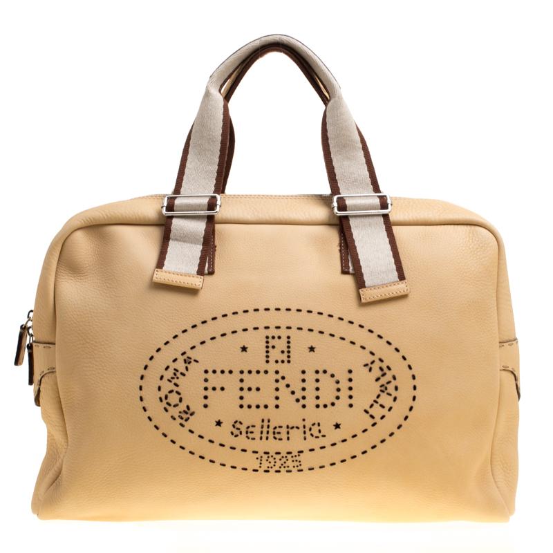 7f49947588e ... cheapest fendi yellow selleria leather weekender bag. nextprev.  prevnext e0b0f 79df5