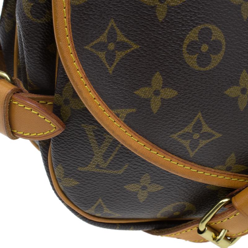 Louis Vuitton Monogram Canvas Saumur Messenger 30 Bag