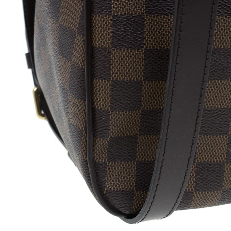 Louis Vuitton Damier Ebene Canvas Cabas Rosebery Tote Bag