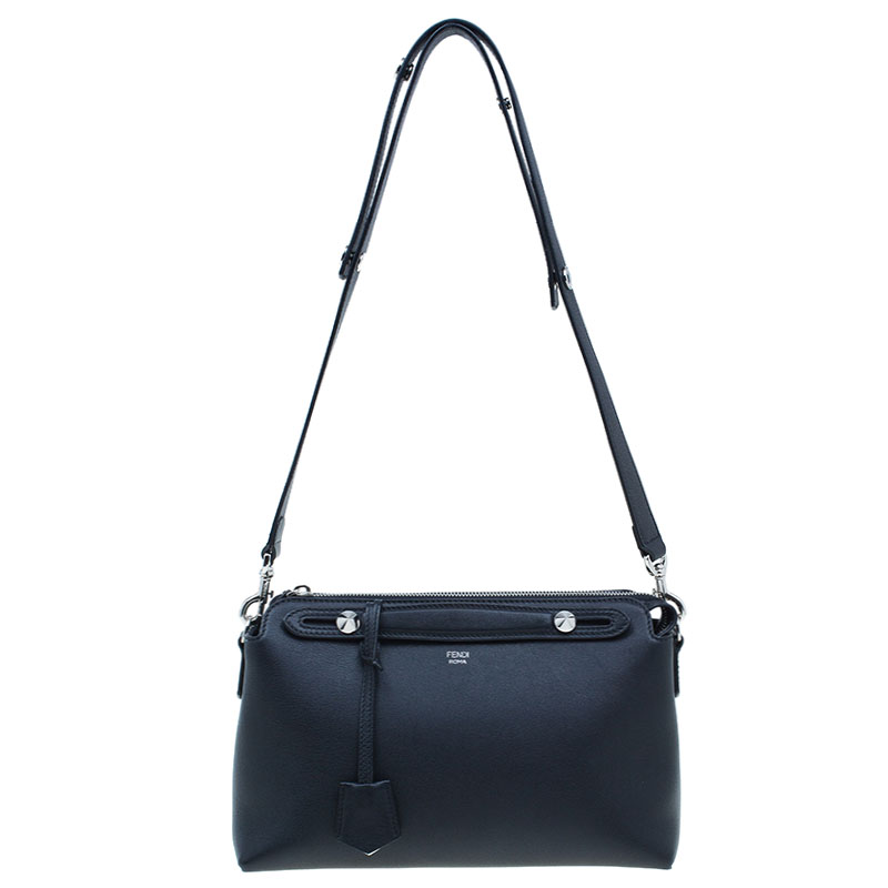 Fendi Black Leather By The Way Small Satchel Bag