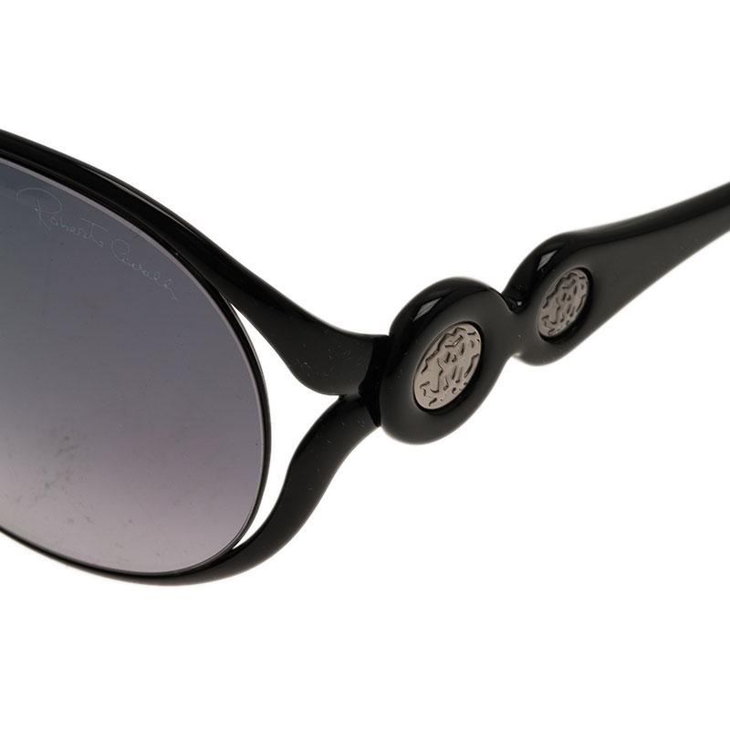 Roberto Cavalli Black Giacinto Sunglasses