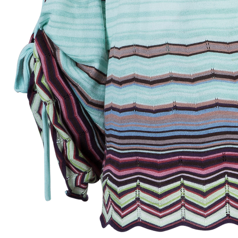 Missoni Wrap Printed Top M