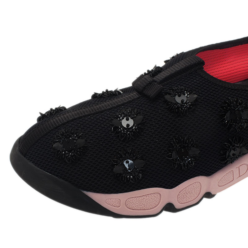 Dior Two Tone Fusion Sneakers Size 40