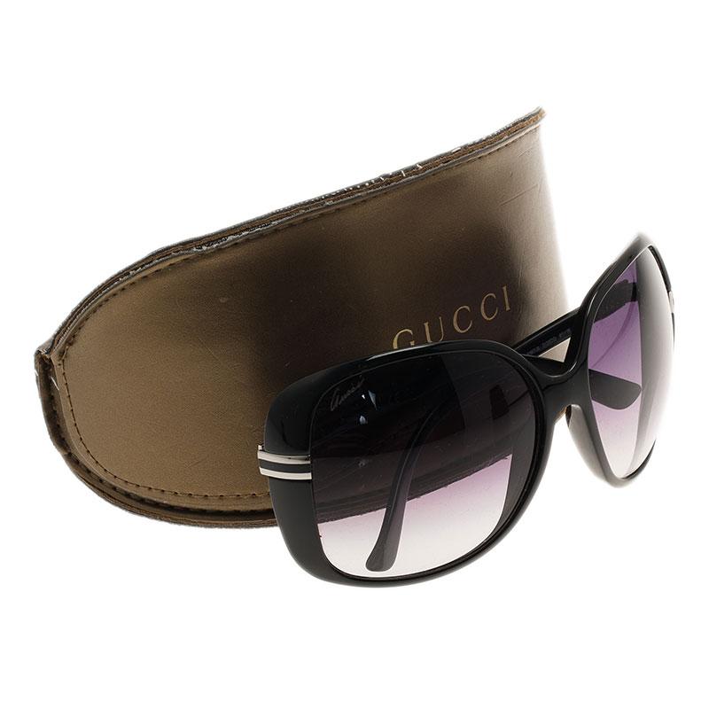 Gucci Black GG 3187 Square Sunglasses