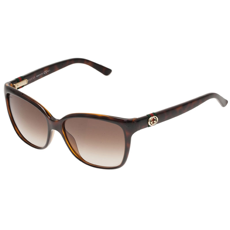Gucci Tortoise Frame GG Sunglasses