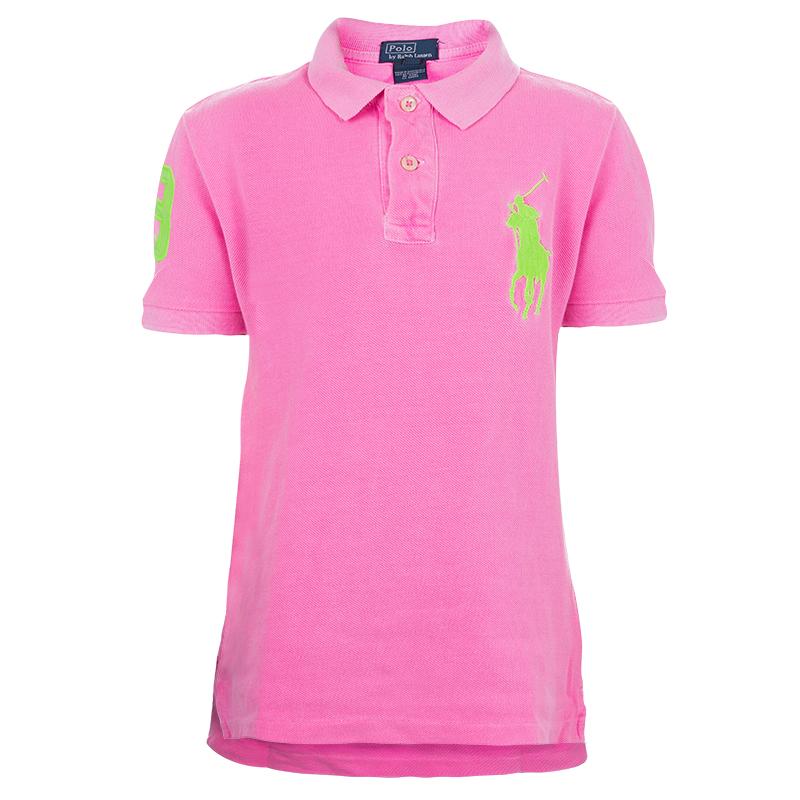 Neon Ralph Lauren Shirt 6 Yrs Pink Polo T BrdoxCe