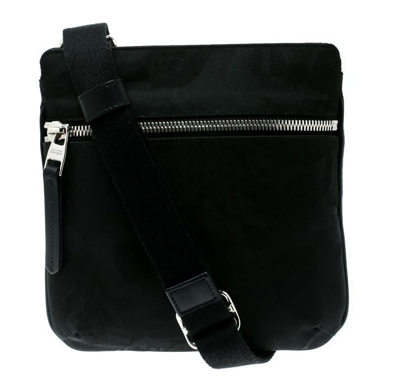 ... Alexander McQueen Black Canvas Messenger Bag. nextprev. prevnext 3bf7e53c2e591