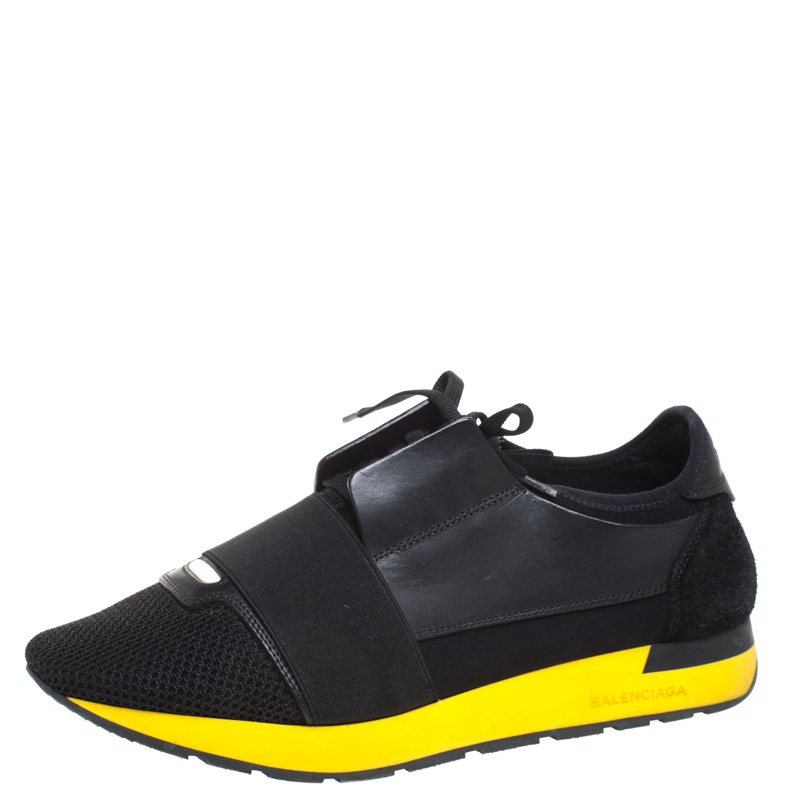 Suede Race Runners Sneakers Size