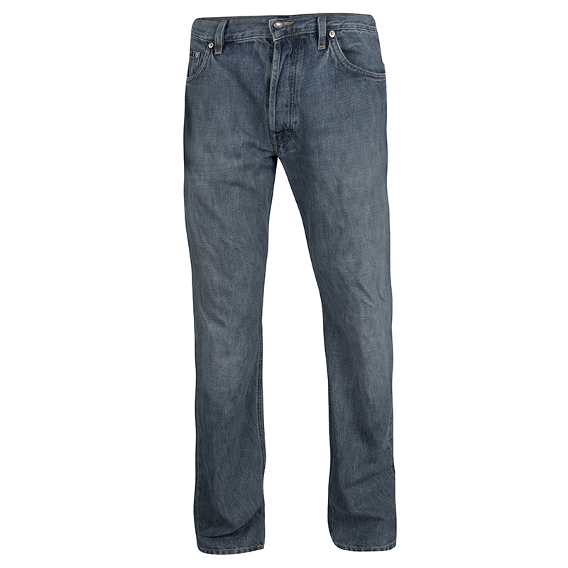 Boss By Hugo Boss Indigo Faded Effect Denim Scout Jeans L