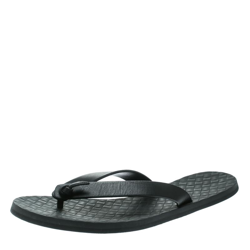 b7ddf62d5cd1 ... Bottega Veneta Black Leather Slipper Sandals Size 41. nextprev. prevnext