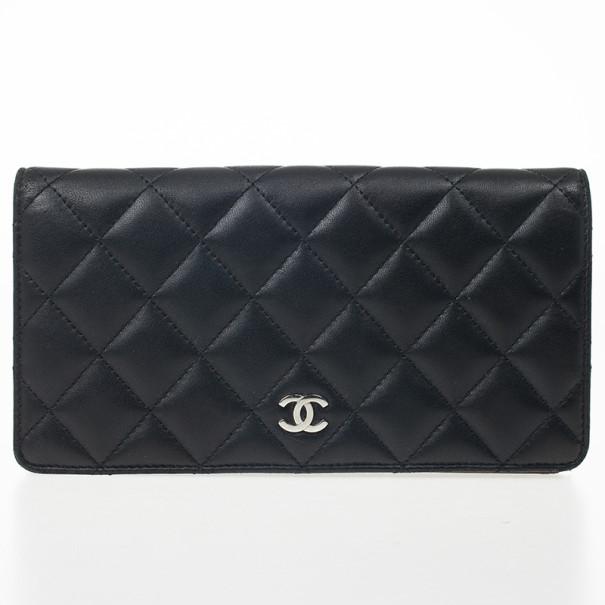 f5143e72a9c734 ... Chanel Quilted Lambskin L-Yen Continental Wallet. nextprev. prevnext
