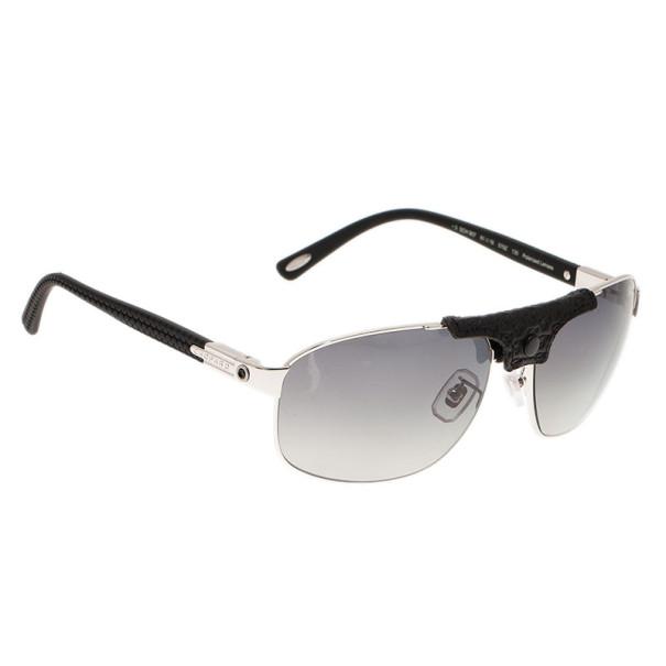 66469c5f5 إشتري نظارات شمسية شوبارد SCH907 مستقطبة فضي وأسود 4384 بأفضل ...