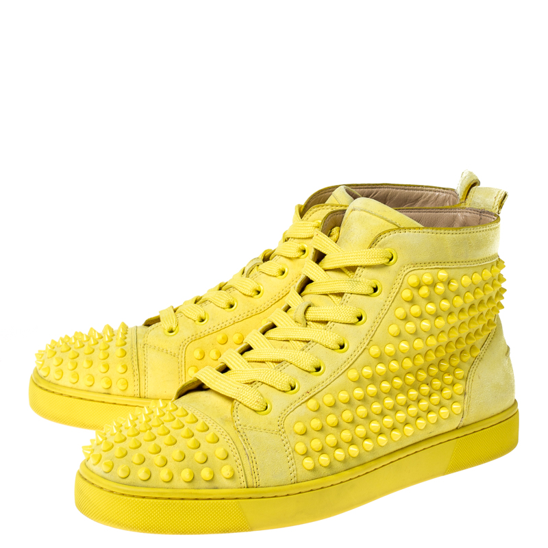 Christian Louboutin Canary Yellow Suede