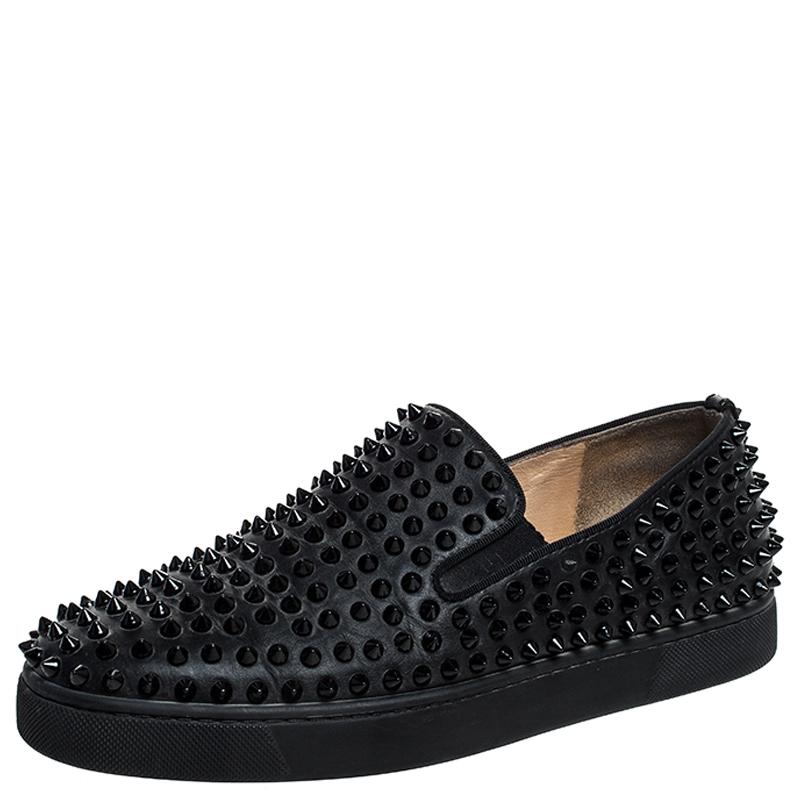 Christian Louboutin Black Leather