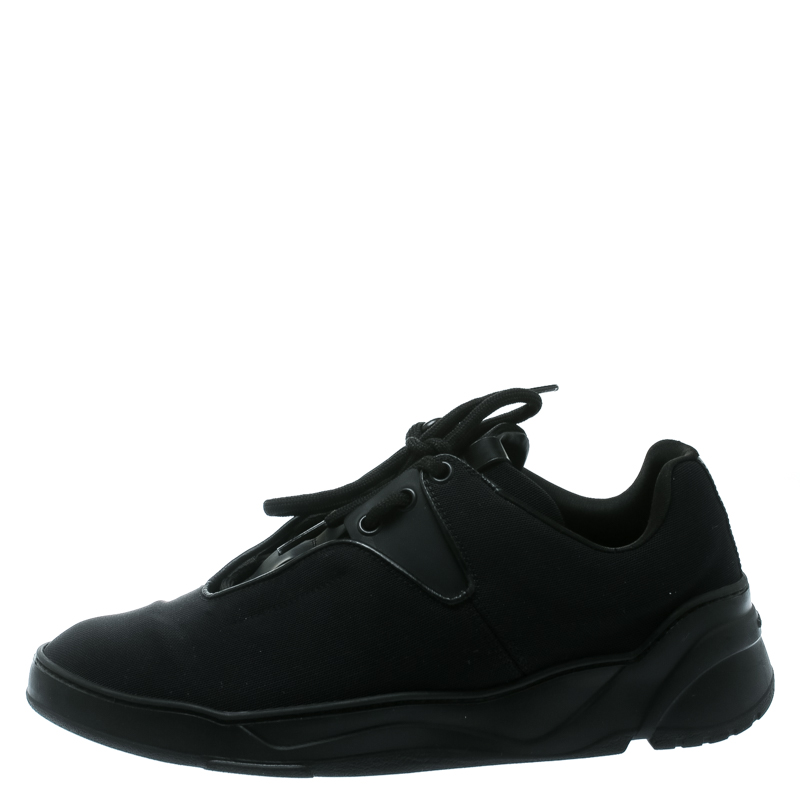 Dior Homme Black Canvas And Leather B17