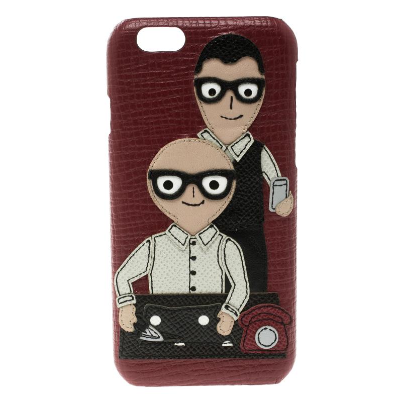the best attitude 30ead c9df8 Dolce and Gabbana Red Iphone 6 Designer Case