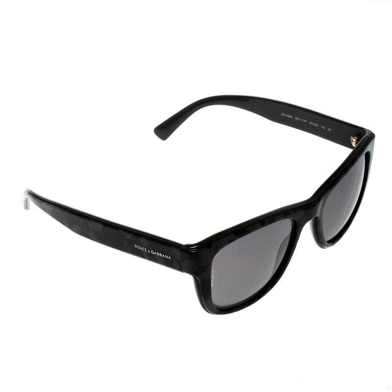 a31107b4a25 Buy Dolce and Gabbana Green Camo Bronze Mirror DG 4284 Wayfarer Sunglasses  146450 at best price