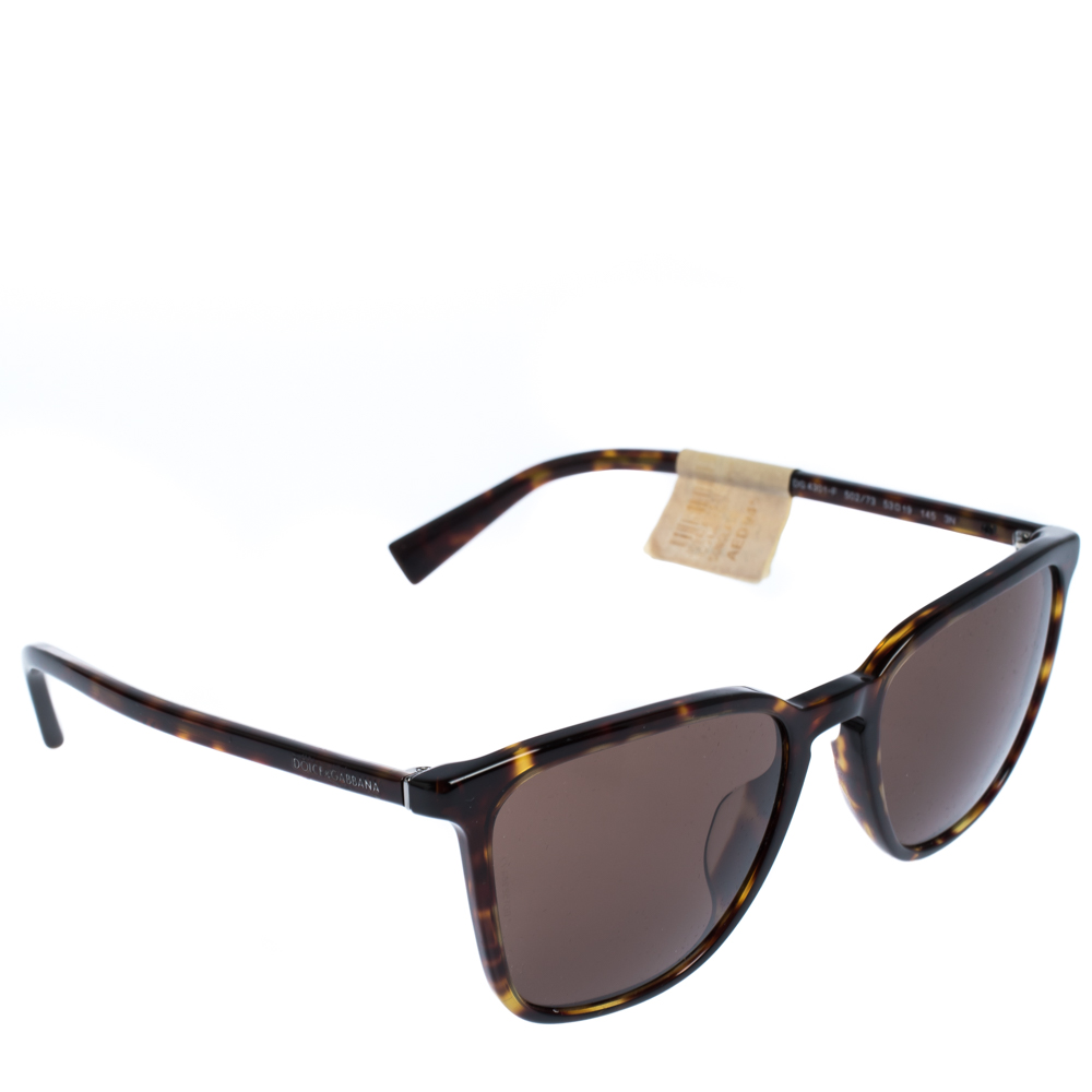 Dolce & Gabbana Brown/Havana DG4301-F Sunglasses