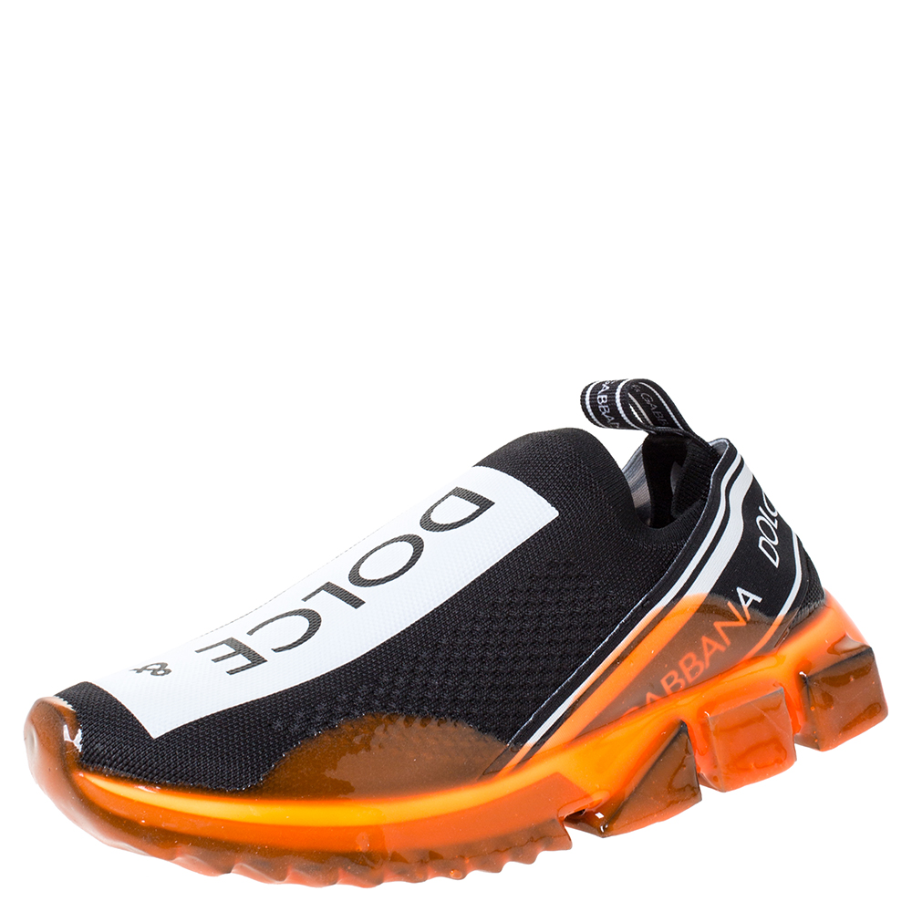 Dolce \u0026 Gabbana Black/Orange Stretch