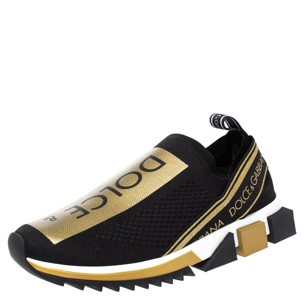 Dolce Gabbana Gold Shoes