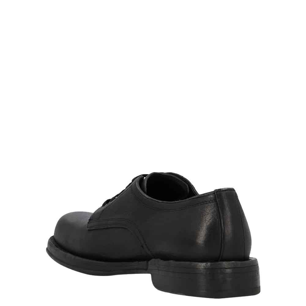 Dolce & Gabbana Black Leather Derby Size EU 42