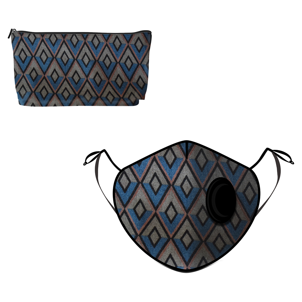 Fine Guard By Caroline  Reusable N95 Face Mask, Artdeco - Large (Available for UAE Customers Only)