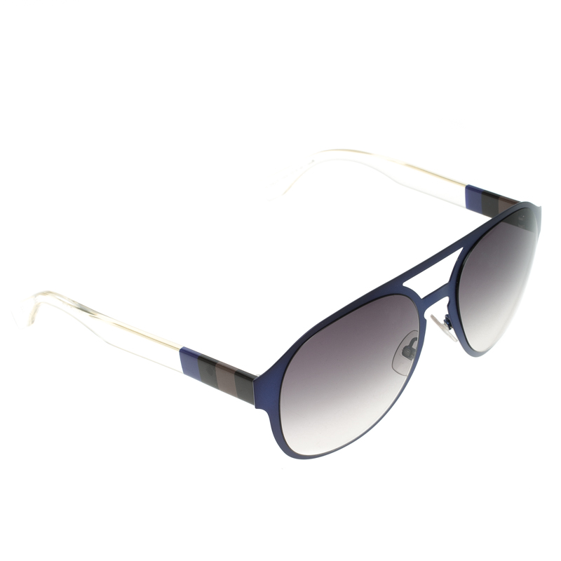 2f14b60f9903 Buy Fendi Blue FF0082 S Aviator Sunglasses 131828 at best price