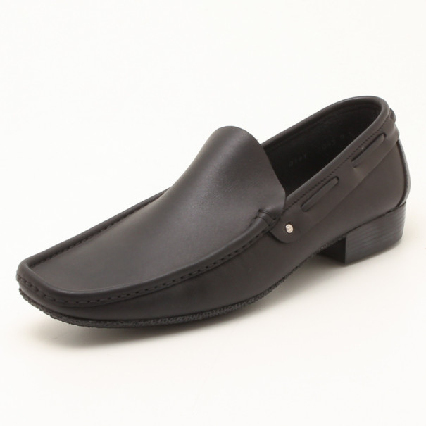 6a0113db78f35 Buy Fendi Black Leather Men s Loafers Size 43.5 35767 at best price ...