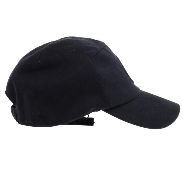 Buy Giorgio Armani Black Logo Baseball Cap 12530 at best price  2ca87de2ffc1