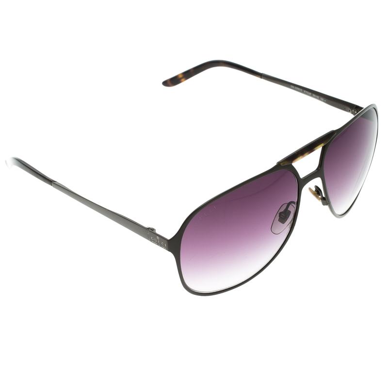52478004807 ... Gucci Brown  Purple Gradient GG2206 S Aviator Sunglasses. nextprev.  prevnext
