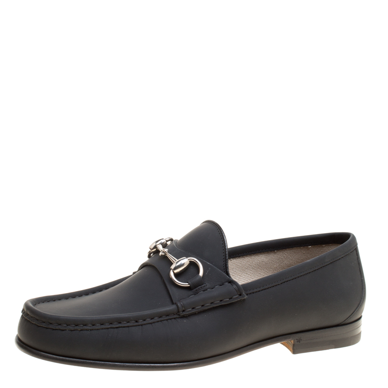 5c8a17f08 ... Gucci Black Leather 1953 Horsebit Loafers Size 40. nextprev. prevnext