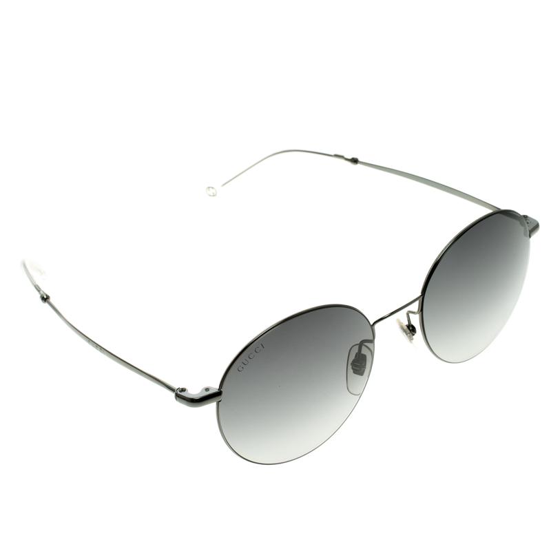 f65377242 Buy Gucci Black GG 4273/S Round Sunglasses 105166 at best price | TLC