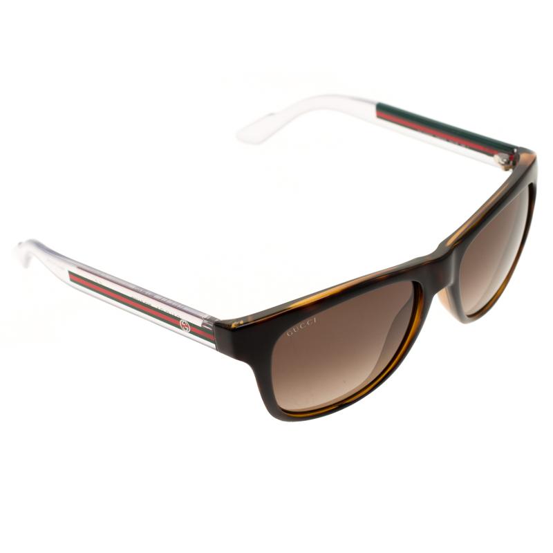 3d46793e57235 Buy Gucci Brown  Brown Gradient Bio Based GG3709 S Wayfarer ...