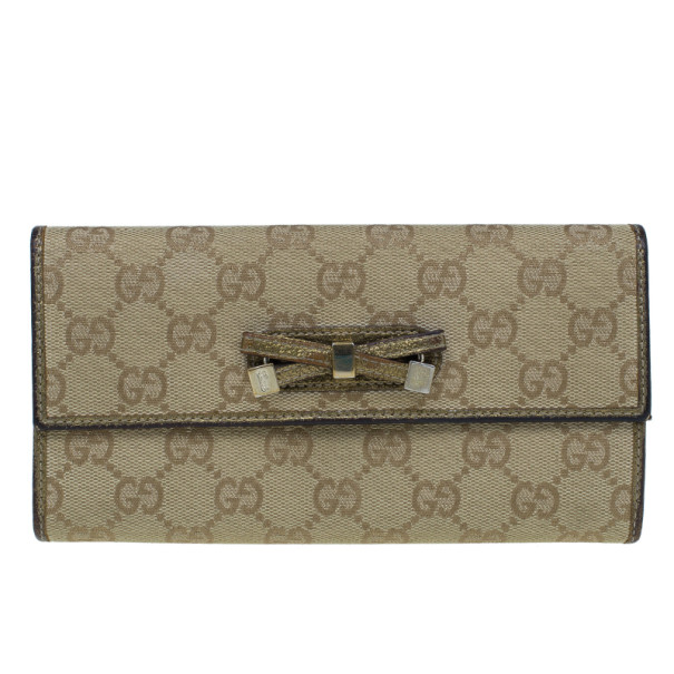 e2d38e86b74 Buy Gucci GG Gold Princy Continental Wallet 11448 at best price