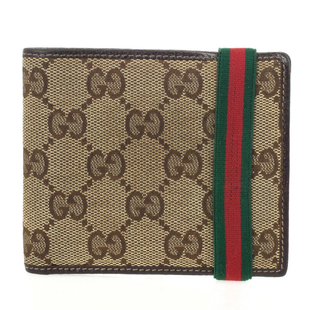 db92cb02003c83 Buy Gucci Original GG Canvas Bifold Wallet 24843 at best price | TLC