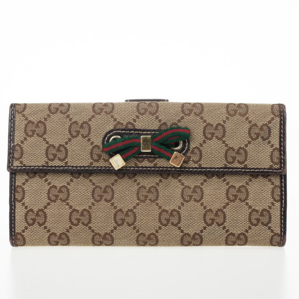 5f8cc0ee50c Buy Gucci Monogram Princy Continental Wallet 29069 at best price