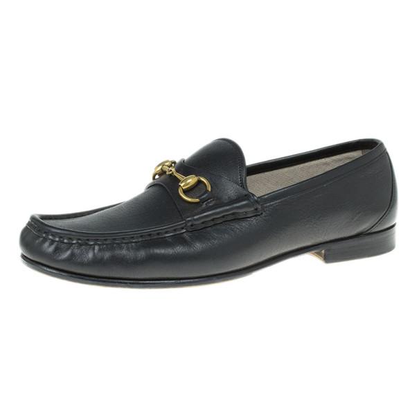 21e67e7fddf ... Gucci Black Leather 1953 Horsebit Loafers Size 43. nextprev. prevnext