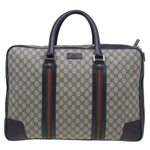 3c26bb6f1 Buy Gucci Original GG Canvas Carry On Travel Bag 8241 at best price ...