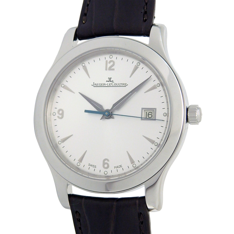 Jaeger LeCoultre Silver Stainless Steel Master Control Men's Wristwatch 40MM