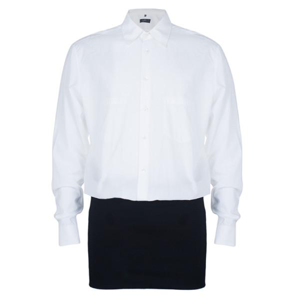 Jean Paul Gaultier Mens White Shirt XS