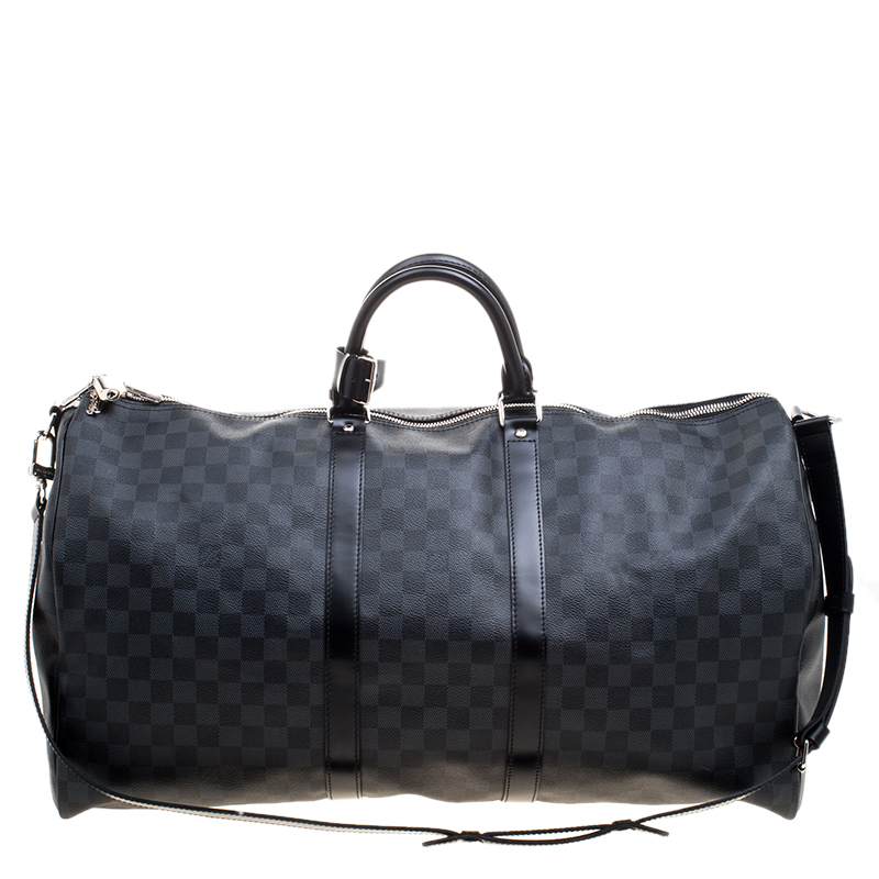 6c152f86440d ... Louis Vuitton Damier Graphite Canvas Keepall Bandouliere 55. nextprev.  prevnext