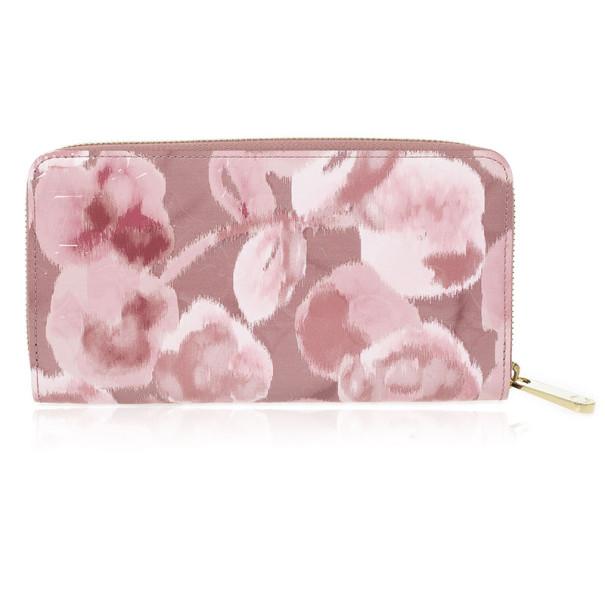 8f414c0961f4 Buy Louis Vuitton Rose Velours Monogram Vernis Ikat Zippy Wallet 27042 at  best price