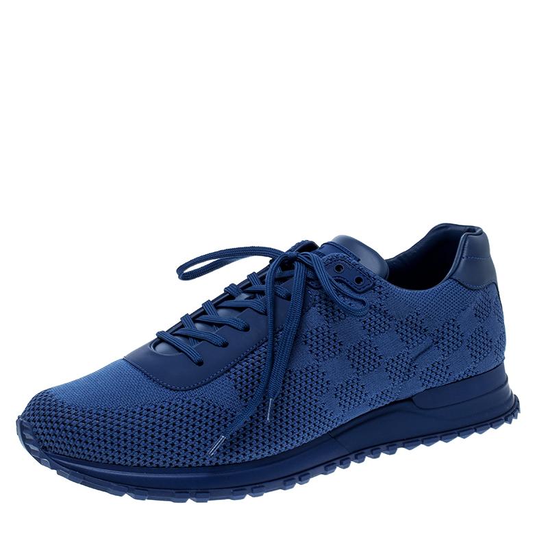Louis Vuitton Blue Damier Mesh Run Away